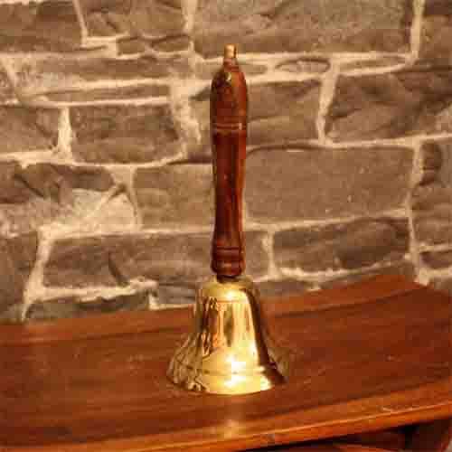 Handle bells - brass bells