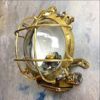 Köpa marin stil lampa i mässing