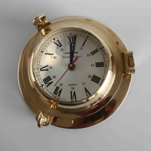 Brass ships clock - maritime clock