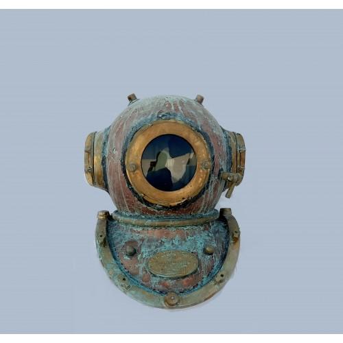 Antique Scuba Diving Helmet (46 cm Height)