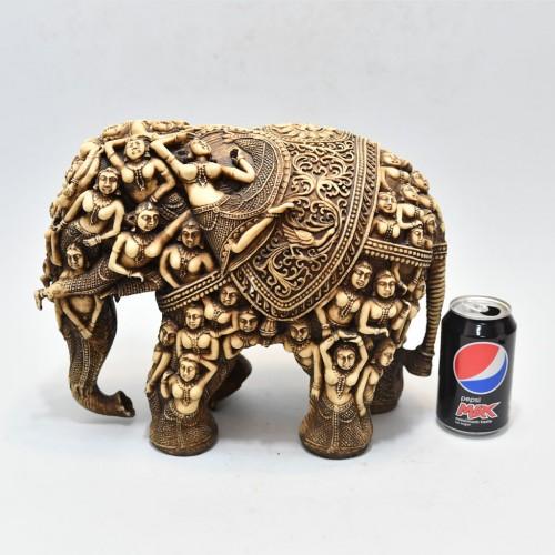 Old craft elephant with Figurehead 1800 century