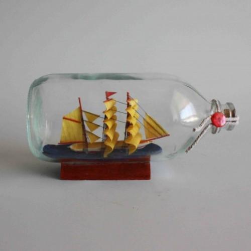 ship in bottle kit - bottle ship