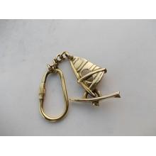 Brass Boatman Key Chain