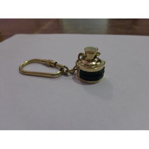 Brass Lamp Key Chain