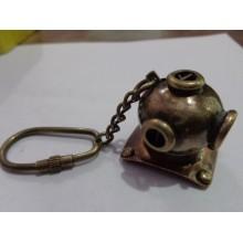 Antique Diving Helmet Key Chain
