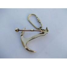 Brass Anchor Key Chain