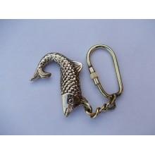 Brass Fish Key Chain