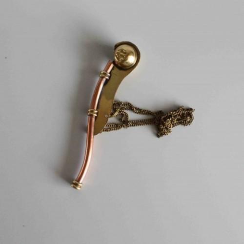 Bosun Pipe Key Ring  - Nautical Gift