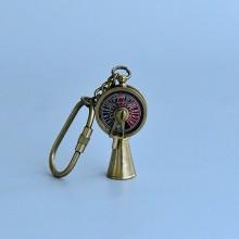 Brass Nautical key Chain- Telegraph