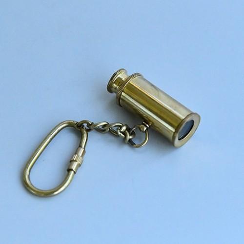 Nyckelring i mässing / Brass key ring, Marin teleskop