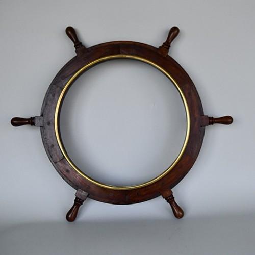Brass Vintage Ship Wheel