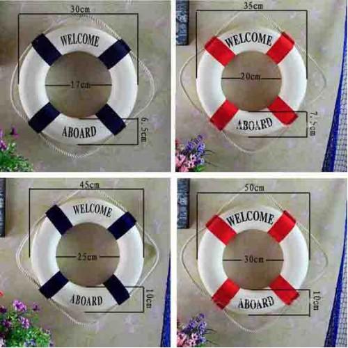 Marin inredning livboj dekoration - Heminredning