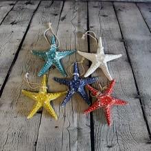 5 Star Fish Hung Nautical Decor Hang
