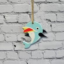 Briny Dolphin Shape Pendant