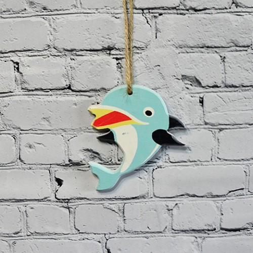 Dolphin fisk för väggdekoration - båt inredning