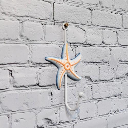 Sjöstjärna väggdekoration med marin stil - design inredning på nätet