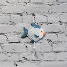 1 Fisk hängande för väggdekoration - modern inredning