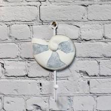 Marin hängande dekoration, porslin marint - blogg inredning