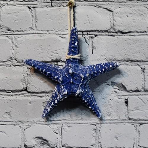 Marin inredning med sjöstjärna - heminredning webshop