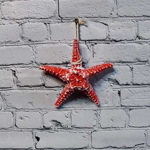 Dekor på vägg, sjöstjärna - marin vägg inredning