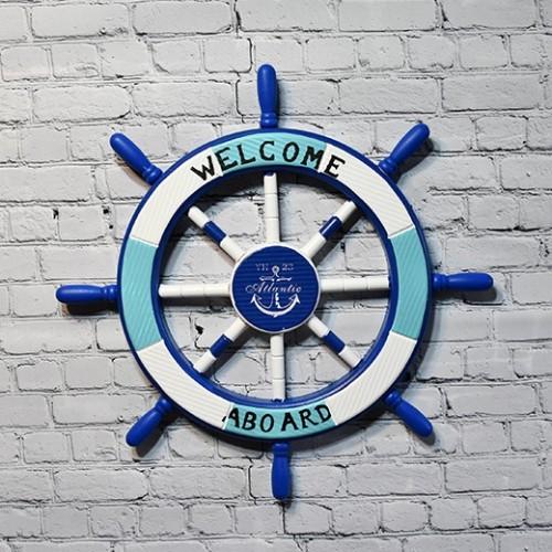 Marine style Ship wheel - Atlantic