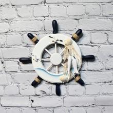 Skeppsratt lek / Maritime Ship Wheel, 1st - Hem väggdekoration