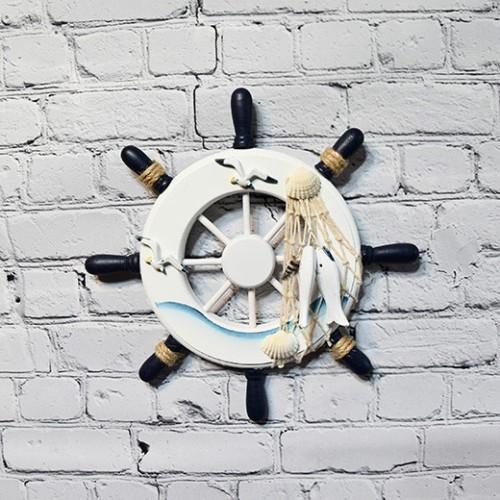 Maritime Ship Wheel - Home Wall Decoration