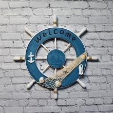 1st skeppsratt i trä, fiskenät inredning - Skeppsinredning