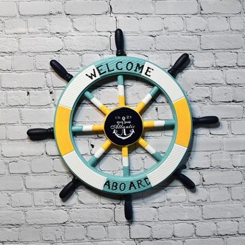 Sailor Multi Colours  wheel Decor