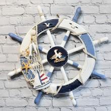 Room inredning i marin, 1st skepps ratt - inredningsdesigner