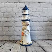 Marine Creative Ornaments Figurine Wood Light House