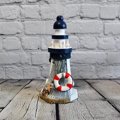 Mediterranean Style Figurine  Marine Lighthouse