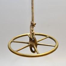 C Block Wheel Brass