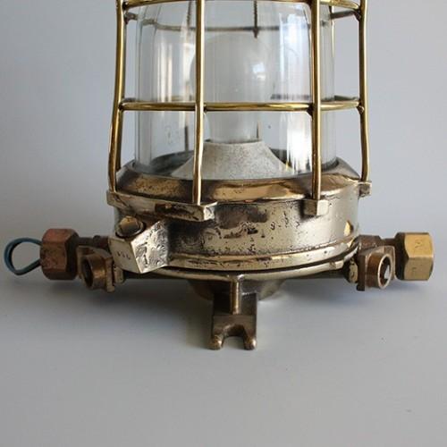 Marina lampor mässing - Antik