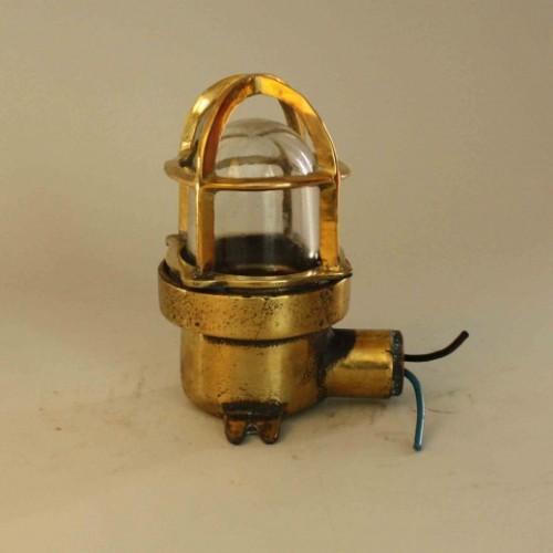 Vägglampa i trappa, marin stil - nautiska antikviteter