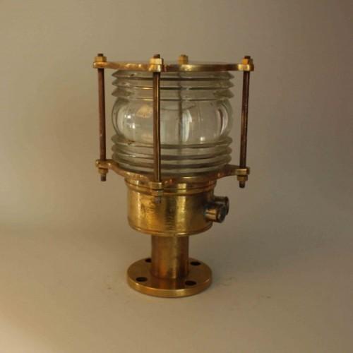Brass Nautical Post Light - Authentic Nautical light
