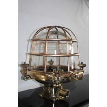 Marin mässingslampa - 50-60 tals lampor