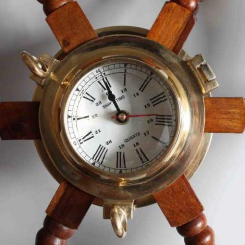 Ventil klockan mässing - inredning marint