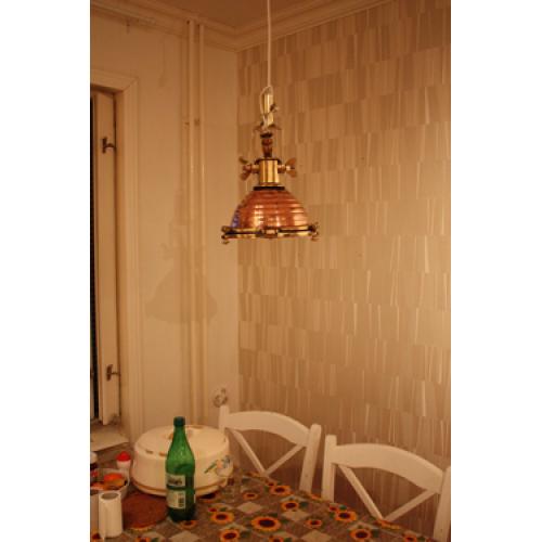Kökslampor - Taklampa i Koppar