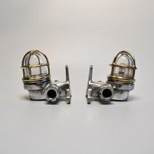 1 par av marin lampor Mässing / Aluminium - dekorationsbelysning