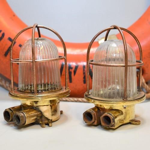 1 par säkerhetslampa