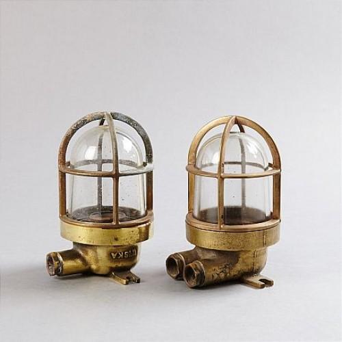 FARTYGSARMATURER, 1 par, 1900-talets mitt - Wiska C1950s