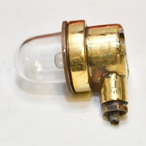 Security light Brass