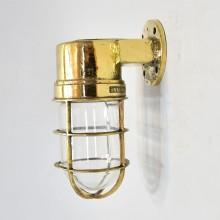 90 Degree ship passageway light - Maritime antiques