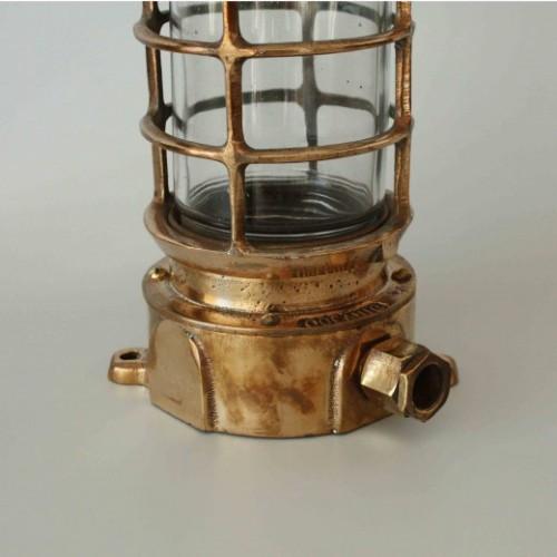 Vägglampa Bronze marin stil - båt belysning