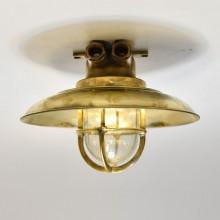Small Wiska brass Cap lamp