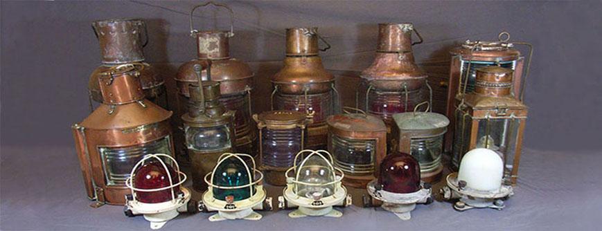 Marinlampor / skeppslampor