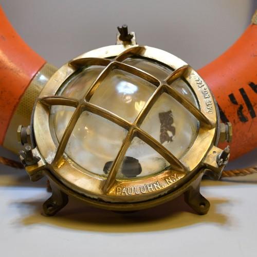 Doom light Brass round