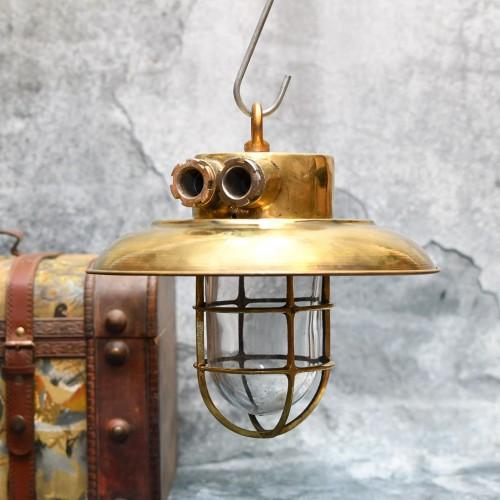 2st Ceiling Hanging Brass cap light