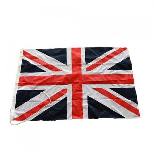 Flagga från gammalt skepp, båtflagga / UK / Storbritannien / Britain / united kingdom flag